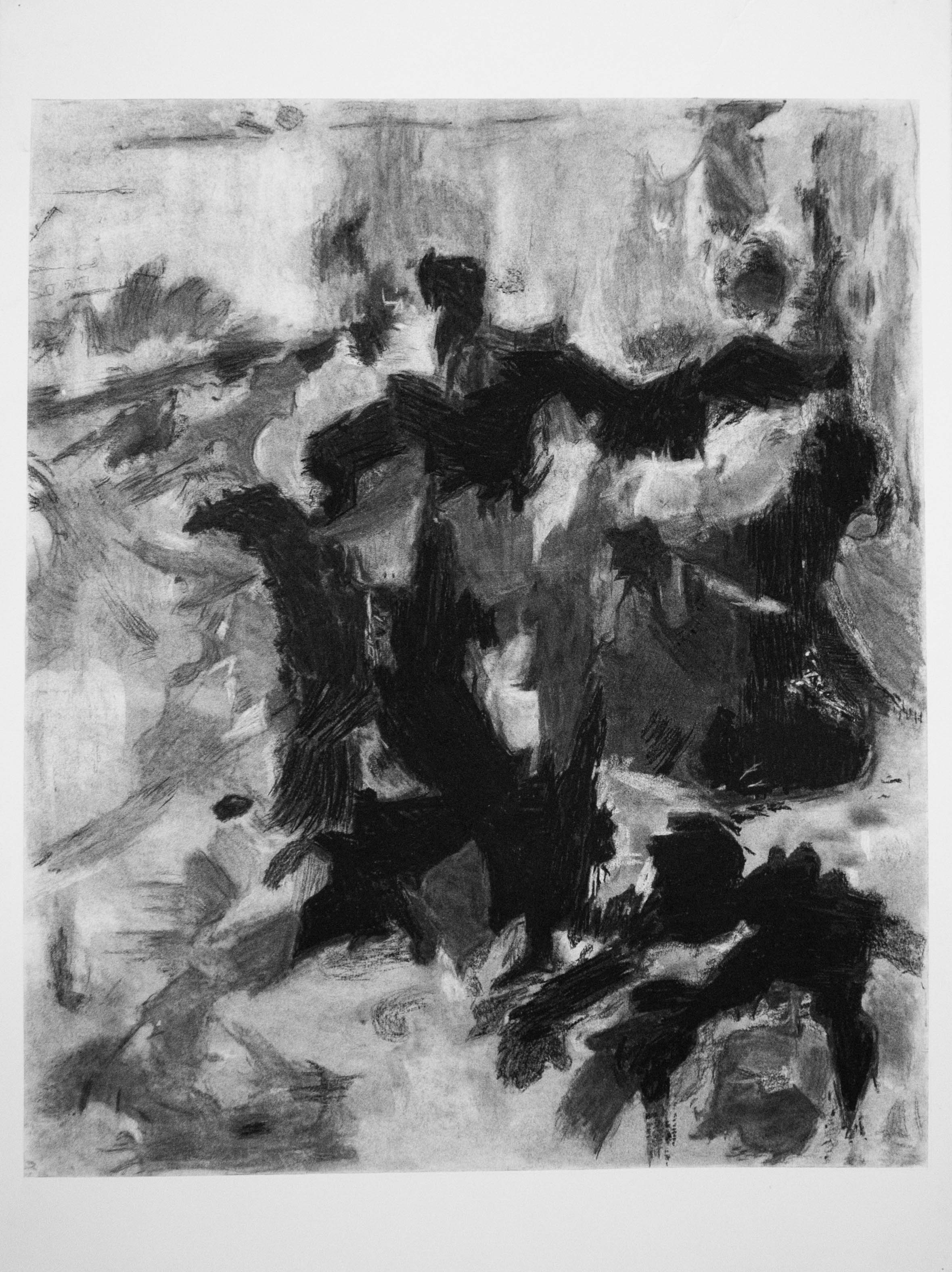 After Joan Mitchell by Rebecca Franklin