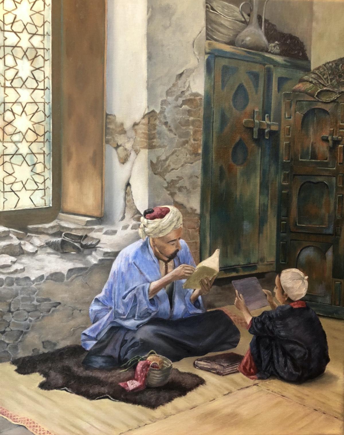 Arab Teacher by Cherri Malak