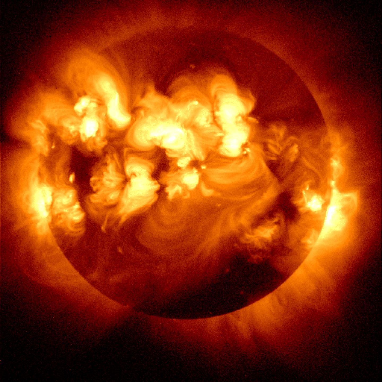 Multiple solar flares from NASA.org