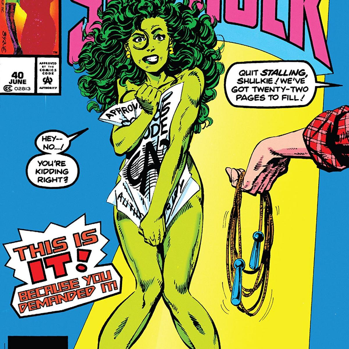 Image of She-Hulk comic cover