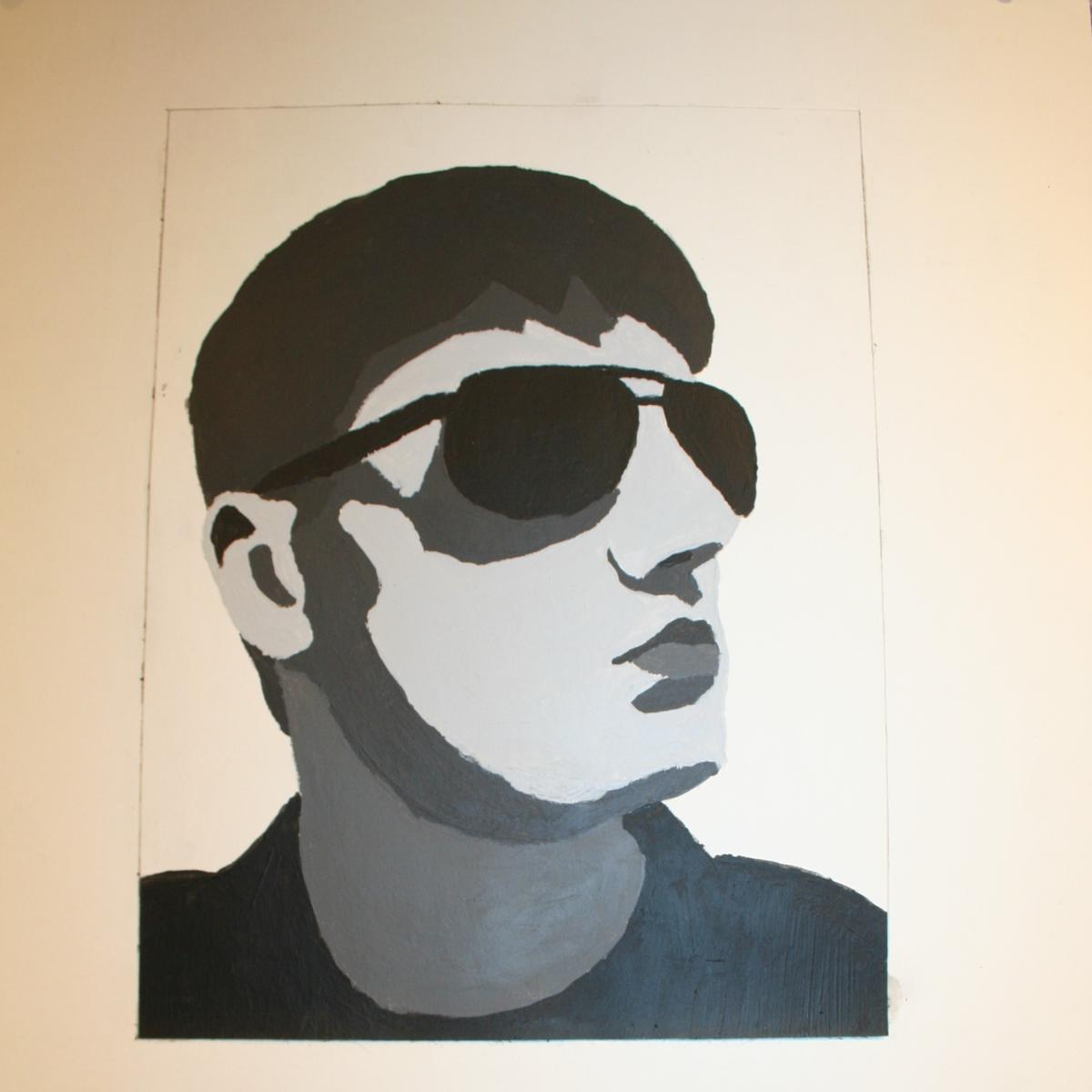 Image of a man wearing sunglasses