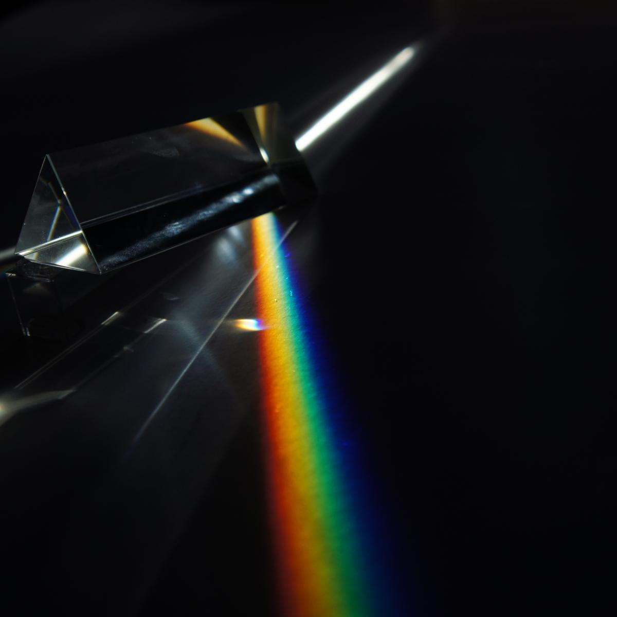 Prism Flat Rainbow from Wikimedia Commons